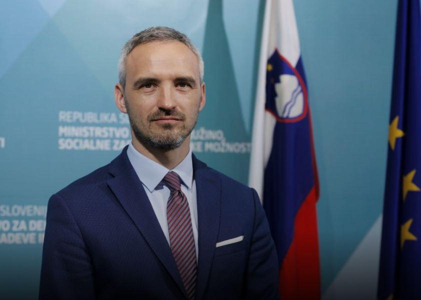 Minister Janez Cigler Kralj